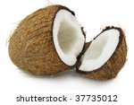 Sweet coconut - stock photo