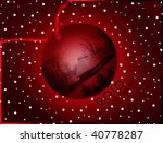Happy New Year - greeting card - stock photo