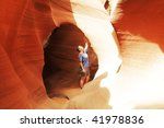 Canyon Antelope - stock photo