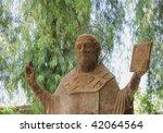 saint nicolas - stock photo