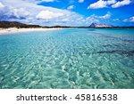 Beach in Sardinia, Italy - stock photo