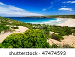 Stunning West Bay on Kangaroo Island - stock photo