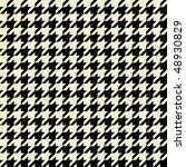 Black and tan colored seamless houndstooth pattern or texture. - stock photo
