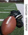 Football equipment - stock photo