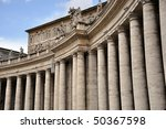 St. Peter's Square - stock photo