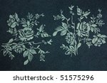 floral pattern for background - stock photo