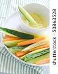 Delicious fresh vegetable coctail - stock photo