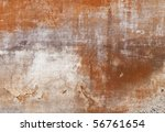 texture - facade of an old tuscan house - stock photo