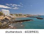 Playa de las Americas. Tenerife Island, Canaries - stock photo