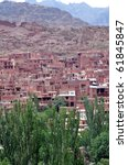 Abyaneh old village - stock photo