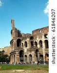 Colloseum in Rome - stock photo