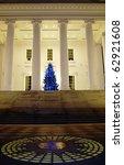 The Capitol at night, Richmond, Virginia - stock photo
