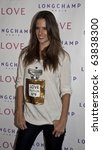 NEW YORK - OCTOBER 26: Supermodel Alessandra Ambrosio attends the 'The Gorgeous Issue' of Love Magazine with Longchamp at Longchamp La Maison Madison on October 26, 2010 in New York, City. - stock photo