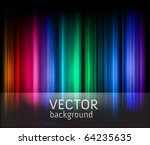 rainbow stripes vector background great for christmas designs - stock vector