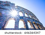Roman Amphitheater Pula,Istria, Croatia - stock photo