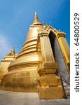 The Grand Palace, Bangkok, Thailand. - stock photo