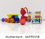 Toys for Christmas - stock photo