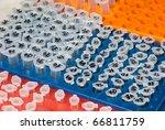 science medical test centrifuge tube - stock photo