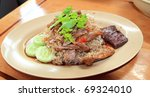 Rice with Duck - stock photo