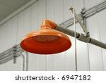 Emergency Safety Shower - stock photo