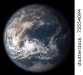 planet earth - stock photo