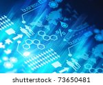 A Business Network Background concept. - stock photo