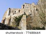 St. Michel in france - stock photo