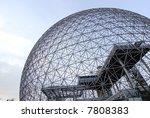 Montreal's Bioshpere - stock photo