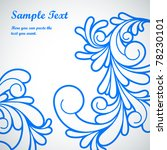 Swirls pattern. Vector illustration of swirl pattern - stock vector