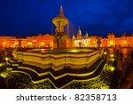 city square - stock photo