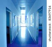 modern lab interior architecture - stock photo