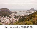 View of Rio de Janeiro - stock photo