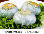 Asian Dim Sum dumplings - stock photo