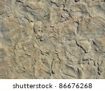 abstract stone background in sunny ambiance - stock photo