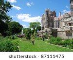 Casa Loma Garden in Toronto, Canada - stock photo