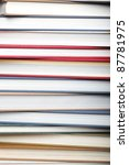 Books as background - stock photo