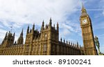 Houses of Parliament - stock photo