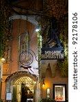VIENNA - DECEMBER 20: Griechenbeisl, the Vienna's oldest inn on December 20, 2011. The Griechenbeisl is the most famous inn of Vienna. - stock photo