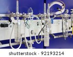 Oxygen in the hospital - stock photo