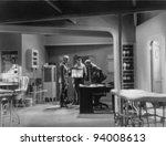 CHEST X-RAYS - stock photo