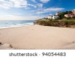 Tamarama Beach, Sydney, Australia - stock photo