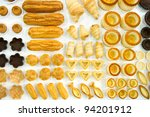 Forms of puff - stock photo
