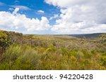 Royal National Park Vista - NSW, Australia - stock photo