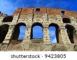 Colosseum,ruin, Rome, Italy,Europe. - stock photo