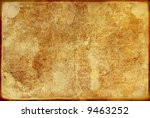 texture of old paper (ideal for retro background) - stock photo