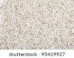 Popped amaranth seeds filling frame for a food background or texture. - stock photo