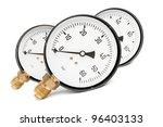 Manometers - stock photo