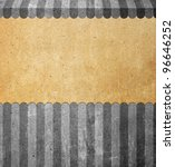 Abstract background with old paper - stock photo