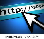 web browser - stock photo