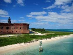 Shutterstock Photo by Shannon Carnevale, Fort Jefferson at Dry Tortugas National Park